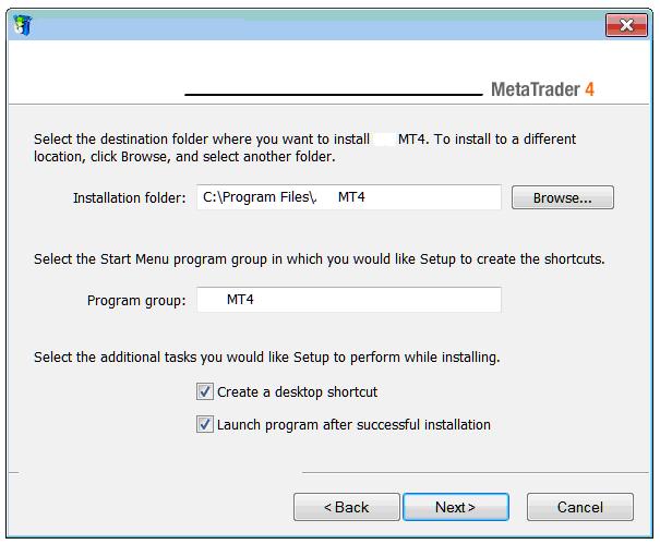 MetaTrader 4 Installation Location on Computer - Indices MT4 Download - How to Install MT4 Platform