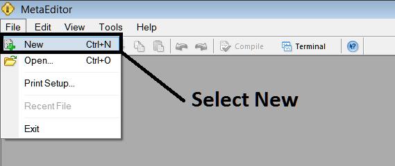 Adding a New Expert Advisor on MT4 Platform